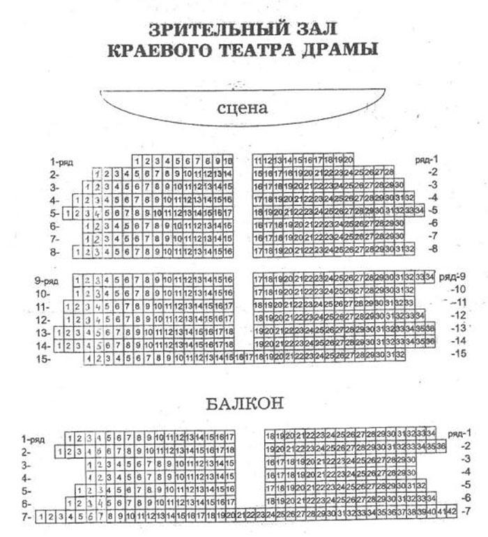 план театра драмы.